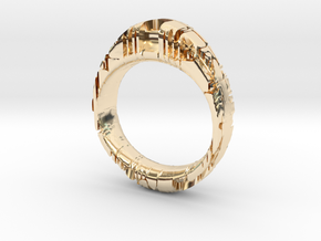 GenericLUX in 14K Yellow Gold
