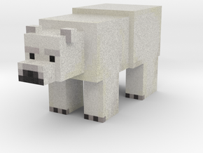 Polar Bear in Full Color Sandstone