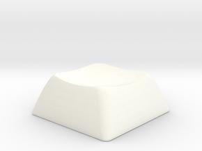1SD ALPS/Matias compatible DSA keycap in White Processed Versatile Plastic