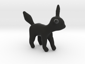 Umbreon in Black Natural Versatile Plastic