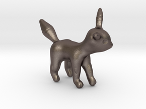 Umbreon in Polished Bronzed Silver Steel