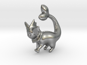 Vaporeon in Natural Silver