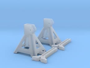 1/25 Jack Stand Pair in Smoothest Fine Detail Plastic