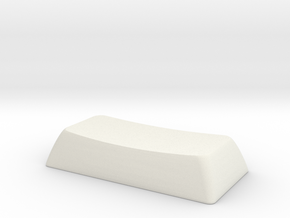 2S ALPS/Matias compatible DSA keycap in White Natural Versatile Plastic