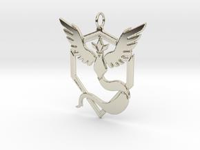 Team Mystic Pendant - Pokemon Go - Articuno in 14k White Gold