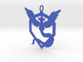 Team Mystic Pendant - Pokemon Go - Articuno in Blue Processed Versatile Plastic