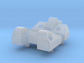 Workable Hinge for German Tanks 1/16 in Smooth Fine Detail Plastic