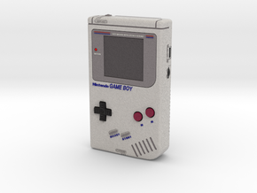 1:6 Nintendo Gameboy (Off) in Full Color Sandstone
