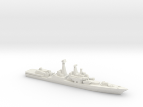 Udaloy II-class destroyer, 1/3000 in White Natural Versatile Plastic