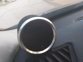 Vent Gauge Pod for E9X in Black Strong & Flexible