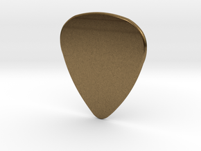 Blank Pick 1.5mm in Natural Bronze