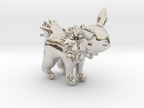 Jolteon in Rhodium Plated Brass