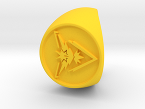Team Instinct Signet US 11  in Yellow Processed Versatile Plastic