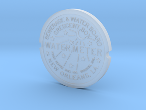 New Orleans Water Meter  in Smooth Fine Detail Plastic