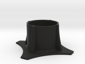 Beerholder for your couch in Black Natural Versatile Plastic