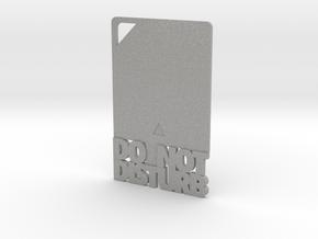 Credit Card DND in Aluminum