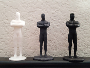 Mini Humanoid Robot Gort Likeness in White Strong & Flexible Polished