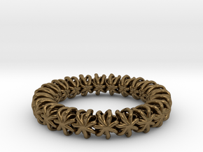 Ring 16.9mm in Natural Bronze
