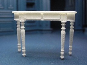 1:24 Colonial Console Table in White Strong & Flexible
