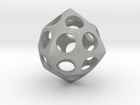 Deltoidal Icositetrahedron Roller in Aluminum