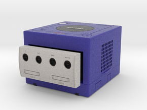 1:6 Nintendo Gamecube (Indigo Blue) in Full Color Sandstone