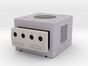 1:6 Nintendo Gamecube (Platinum) in Full Color Sandstone