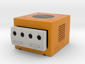 1:6 Nintendo Gamecube (Spice Orange) in Full Color Sandstone