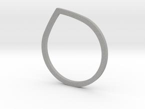 Anello Goccia in Aluminum: 5.5 / 50.25