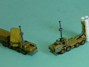 SA10 Grumble Launcher and Radar 1/285 6mm in Smooth Fine Detail Plastic