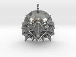 Eagle Pendant in Natural Silver