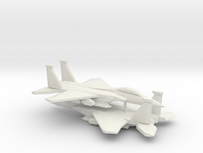 1/350 F-15E Advanced Strike Eagle (x2) in White Natural Versatile Plastic