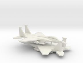 1/350 F-15E Advanced Strike Eagle (x2) in White Natural Versatile Plastic