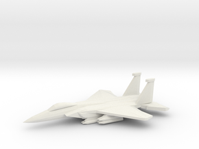 1/350 F-15C 2040C Advanced Eagle in White Natural Versatile Plastic
