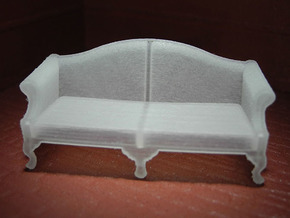 1:48 Queen Anne Sofa in Frosted Ultra Detail