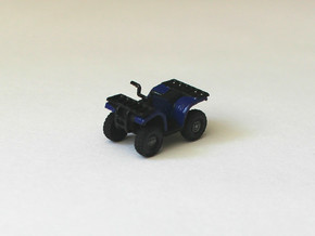 HO Scale Quad ATV in Smooth Fine Detail Plastic