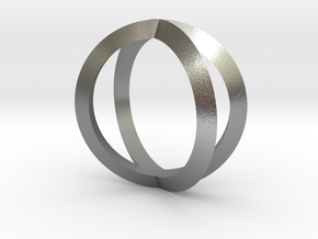 Double Torus in Natural Silver
