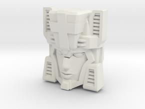 Fembot HeadNurse Face (Titans Return) in White Natural Versatile Plastic