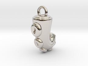CHIBI CHUBBY TENTACLE in Platinum
