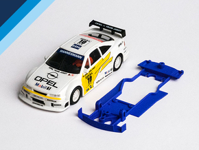 1/32 Ninco Opel Calibra V6 DTM Chassis in Blue Strong & Flexible Polished