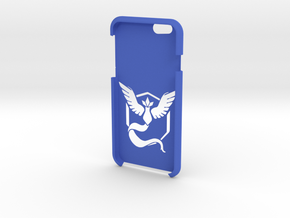Iphone 6s6 Team Mystic Case in Blue Strong & Flexible Polished
