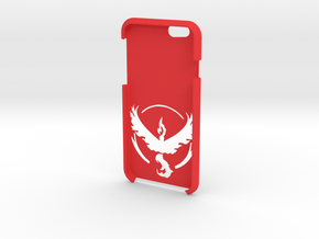 Iphone 6/6S Team Valor Case  in Red Strong & Flexible Polished