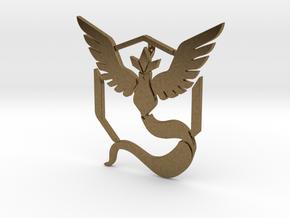 Pokemon Go, Team Mystic Pendant  in Natural Bronze