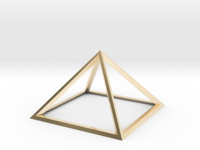 Giza Pyramid in 14K Yellow Gold
