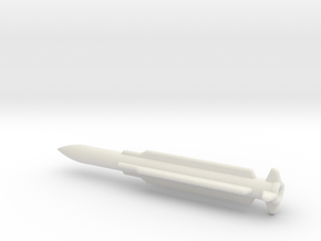 1/144 Scale SM-6 AGM-78 Standard Missile in White Natural Versatile Plastic
