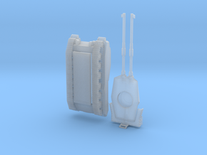 Type 61 Tank 1:144 in Smooth Fine Detail Plastic