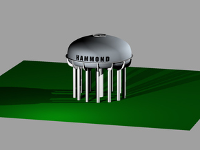 Hammond Water Tower in White Natural Versatile Plastic