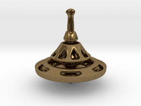 TRANSITION Spinning Top in Natural Bronze