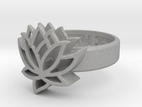 US9 Ring XXV: Tritium (Silver) in Aluminum