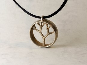 Natural Collection - Tree Pendant in Stainless Steel