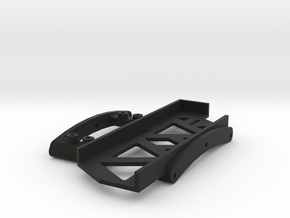 Short Servo/Battery Tray for SCX10 II in Black Natural Versatile Plastic
